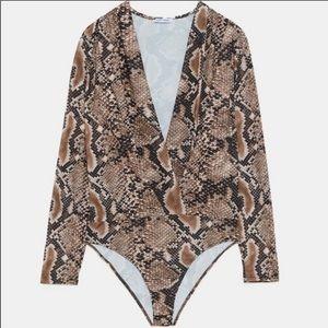 Zara bodysuit.